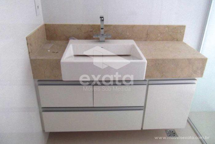 Imagens Banheiro Sob Medida : Gabinetes e arm?rios de banheiro exata f?brica m?veis